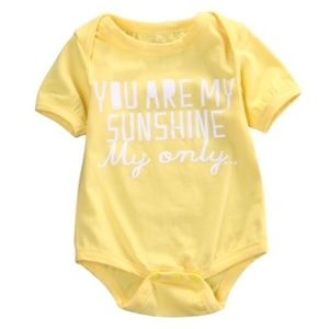 """Other - Baby boy girl """"You are my sunshine"""" 3-6 mo."""